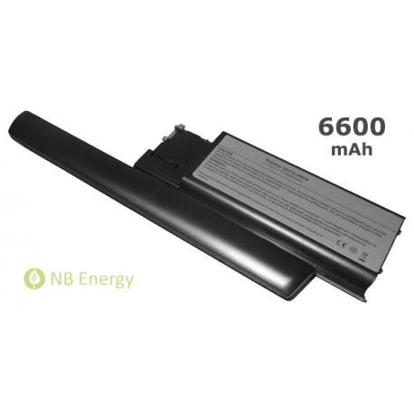 Batéria DELL Latitude D620 D630 JD634 | 6600 mAh (73 Wh), 11,1V