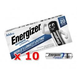 Batéria ENERGIZER Ultimate Lithium AAA LR3 R3 - 10ks