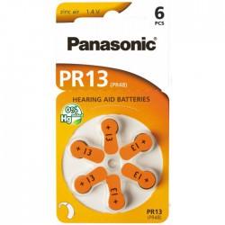 Baterie Panasonic 13 (PR48) - do naslouchadel | cena za 1 ks baterie
