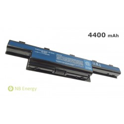 Baterie ACER Aspire 5733 4251 4551 AS10D31, TravelMate 4370 | 4400 mAh (49 Wh), 11,1V