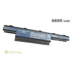 Batéria ACER Aspire 5733 4251 4551 AS10D31, TravelMate 4370 | 6600 mAh (71Wh), 11,1V