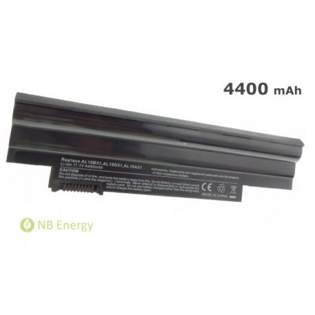Batéria ACER AL10A31 AL10B31 Aspire One D257 D270 722   4400 mAh (49 Wh), 11,1V