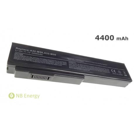 Batéria ASUS M50 N61 A32-M50 A32-N61, Lamborghini Pro33 | 4400 mAh (49 Wh), 11,1V