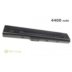 Batéria ASUS A42 A52 K52 A32-K52 | 4400 mAh (48 Wh), 11,1V