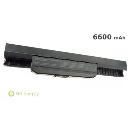 Batéria ASUS A32K53 K53S K53SV X53S X53U X54C X54H   6600 mAh (71 Wh), 10,8V
