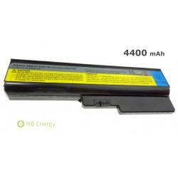 Batéria LENOVO IBM G550M G555 G555 20045 G555L N500 | 4400 mAh (49 Wh), 11,1V