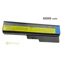 Batéria LENOVO IBM IdeaPad G450 G530 G550 N500 | 6600 mAh (73 Wh), 11,1V