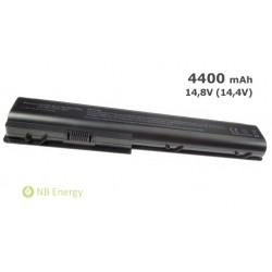 Batéria HP PAVILION DV7 DV8 HDX18 | 4400 mAh (63 Wh), 14,4V